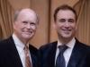 Philadelphia Fed President Charles Plosser and John Prato, Consul General of Canada