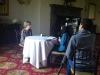 Speaker Catherine Mann interviews with Vietnam TV