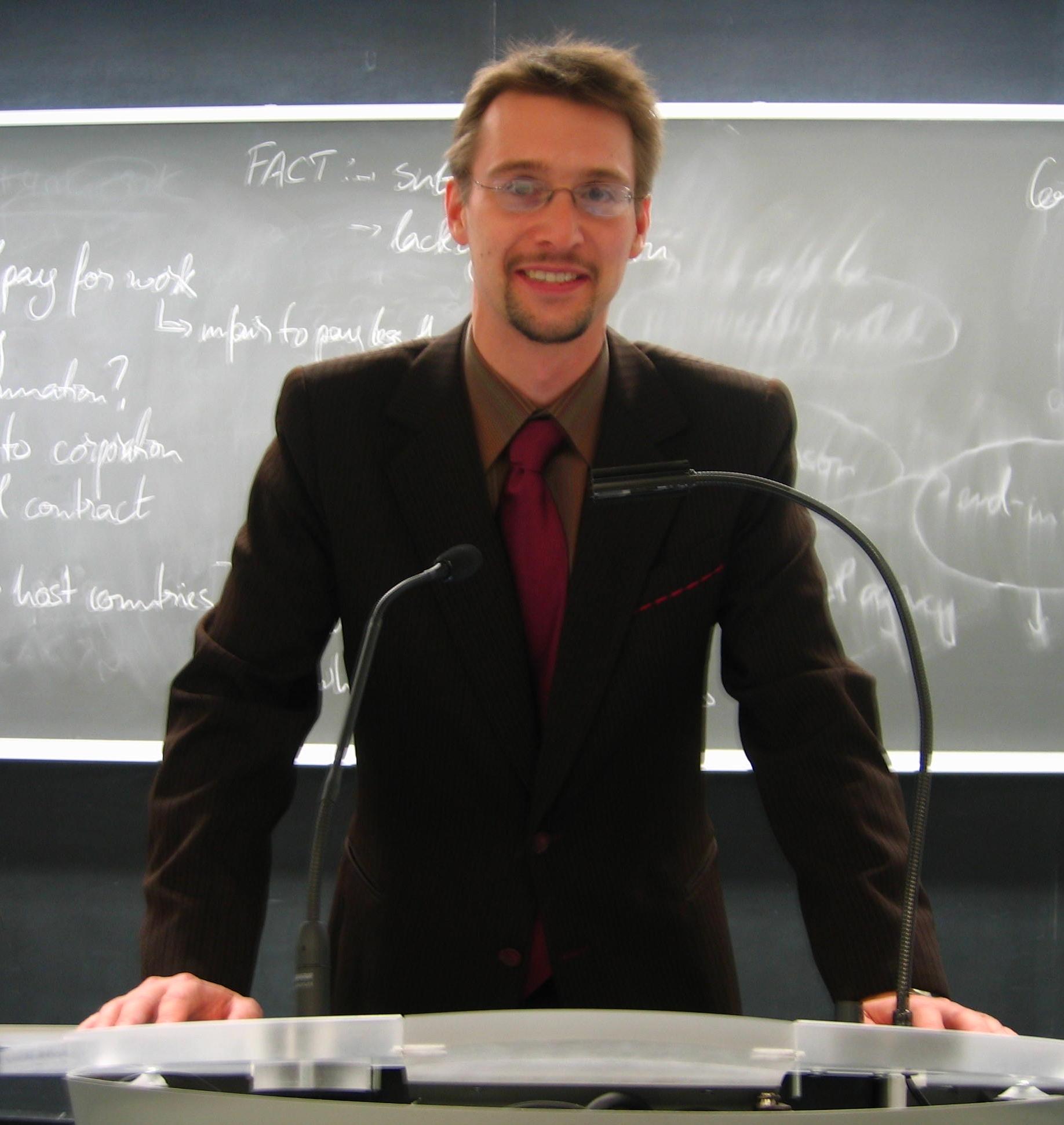 Martin Sandbu, Ph.D.