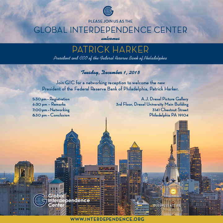 GIC Welcomes Patrick Harker, President and CEO of the